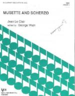Musette and Scherzo - Grade 4 - Le Clair/Edited by Waln