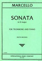 Sonata in D Major for Trombone and Piano - Marcello/Brown