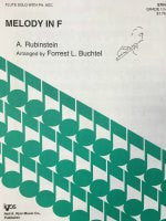 Melody in F - Rubinstein/Buchtel - H & H Music