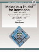Melodious Etudes for Trombone (Book 1: Nos. 1-60) - Arranged by Rochut/Edited by Raph - H & H Music