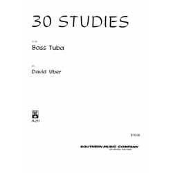 30 Studies - Bass Tuba - Uber - H & H Music