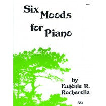 Six Moods for Piano - Rocherolle - H & H Music