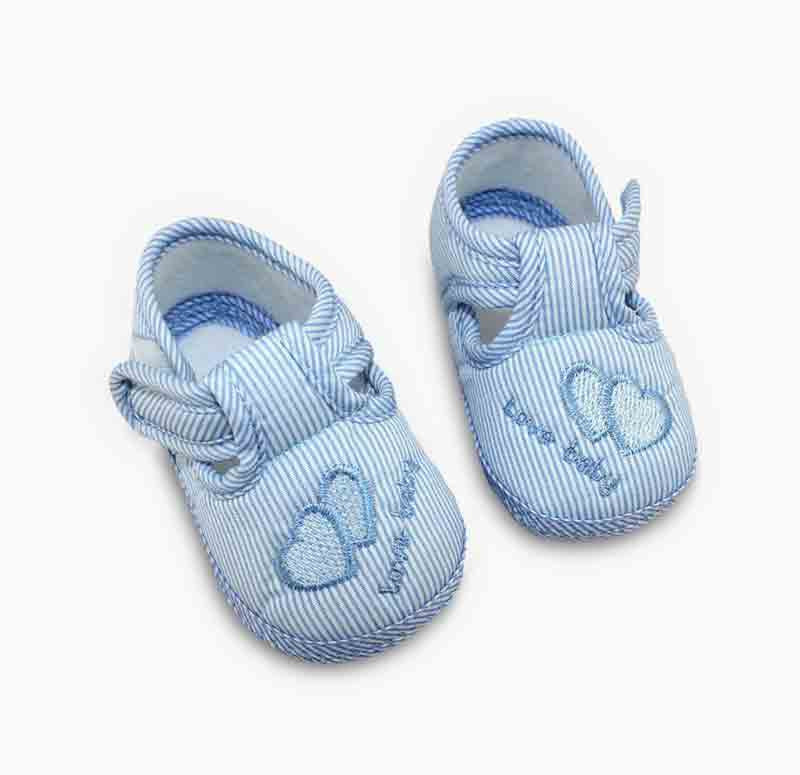 04a9ce837 Cutie Cotton Slip-ons - BumbleBaby