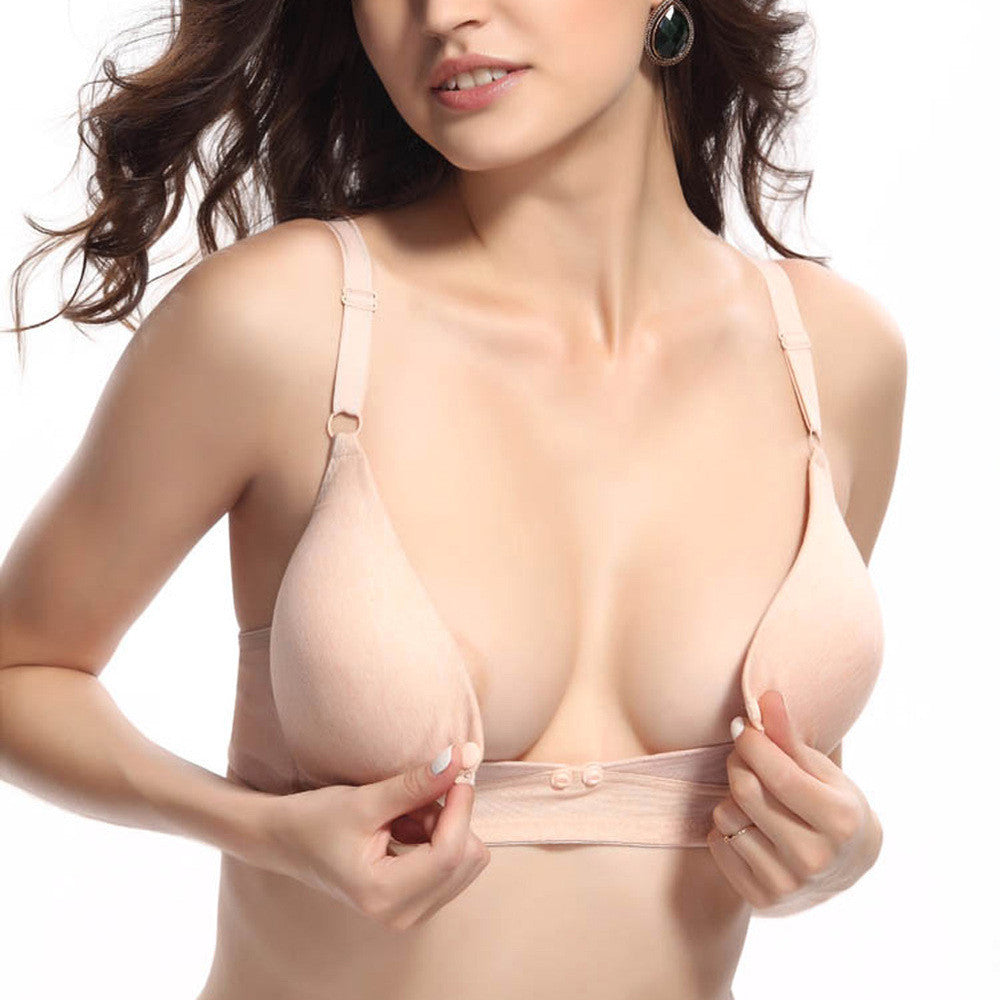 Front Open Nursing Bra