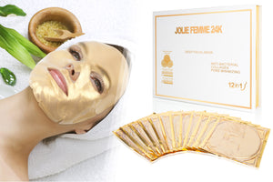 24K Gold Face Mask - One Year Supply