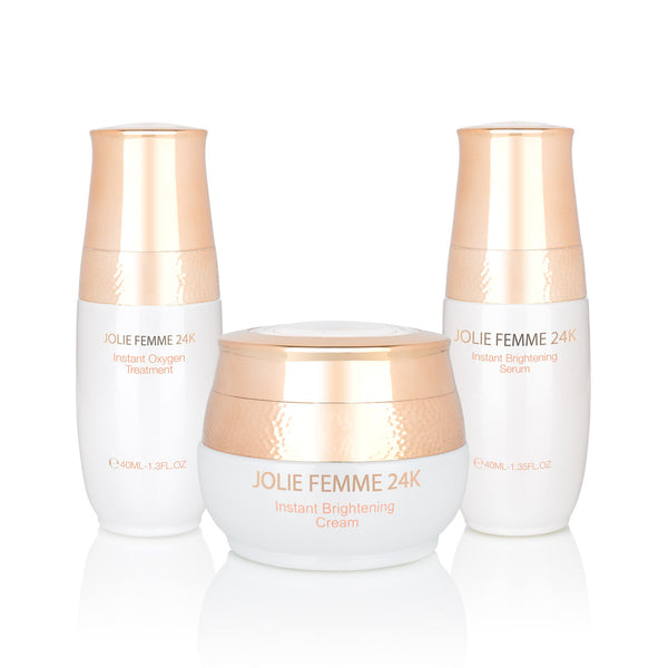 24K Instant Brightning Oxygen Treatments (Mask, Cream and Serum)