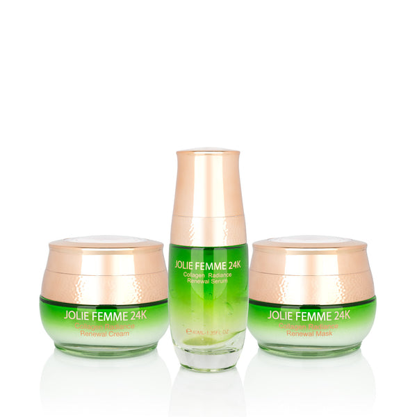 Collagen Radiance Treatment Set (Mask, Cream and Serum)