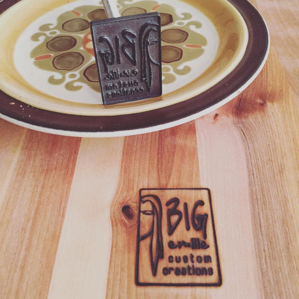 Custom Branding Iron - Electric and or flame heated - The Custom Brand Shop