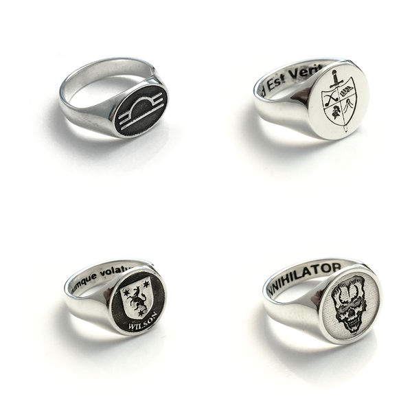 Custom Design Signet Ring
