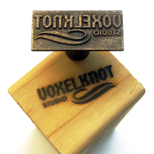 Customizable Branding Iron Designer - Simply Text - The Custom Brand Shop
