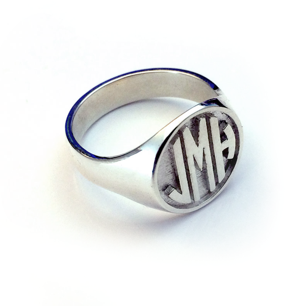 Custom Designed Signet Ring - The Custom Brand Shop