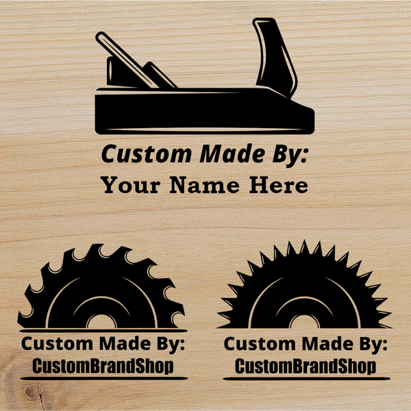 Customizable Branding Iron Designer - Planes and Blades - The Custom Brand Shop