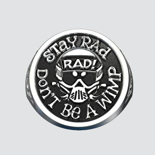 Limited Edition Radical Rick 40 Year Anniversary Signet Ring - The Custom Brand Shop
