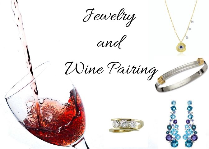 Jewelry and Wine the Perfect Pair