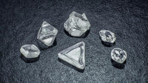 multiple synthetic diamonds