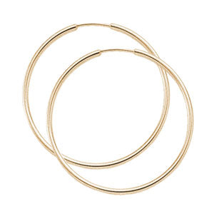 1.5 x 30mm Endless Hoop in Rose Gold - Silverscape Designs