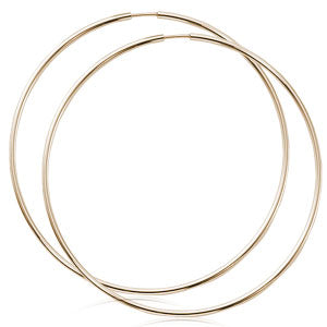 Carla Endless XL Hoops