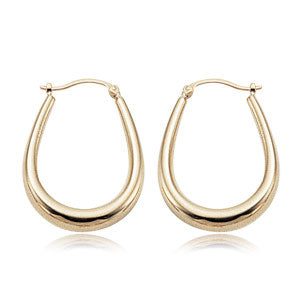 Carla V-shaped Hoops