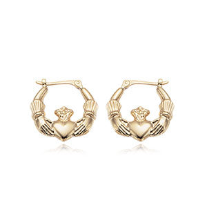 Carla Small Claddagh Earrings