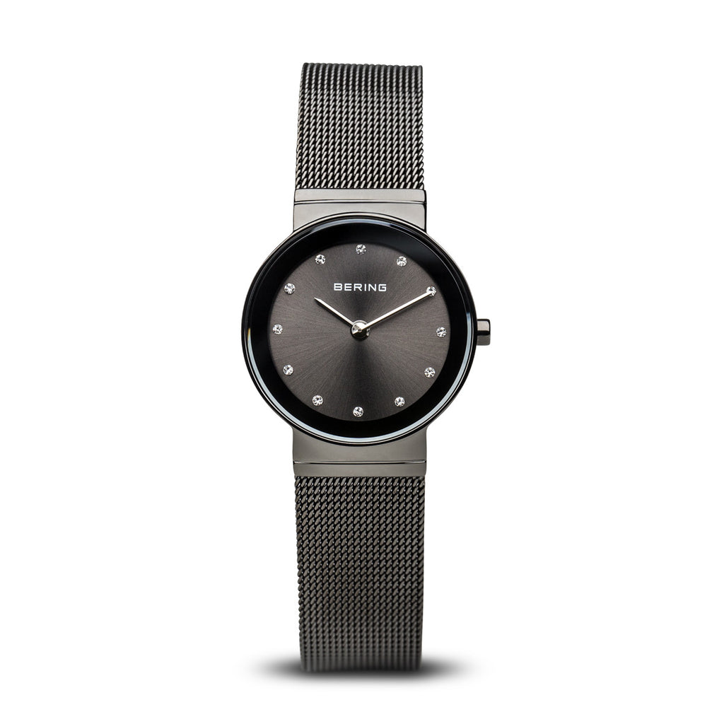 Milanese Black Classic Women's Watch - Silverscape Designs