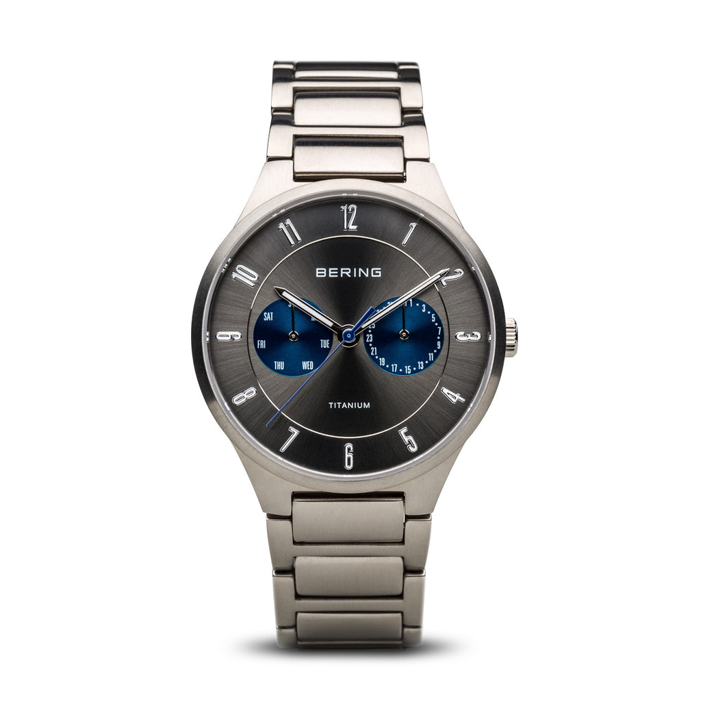 Titanium Silver Watch