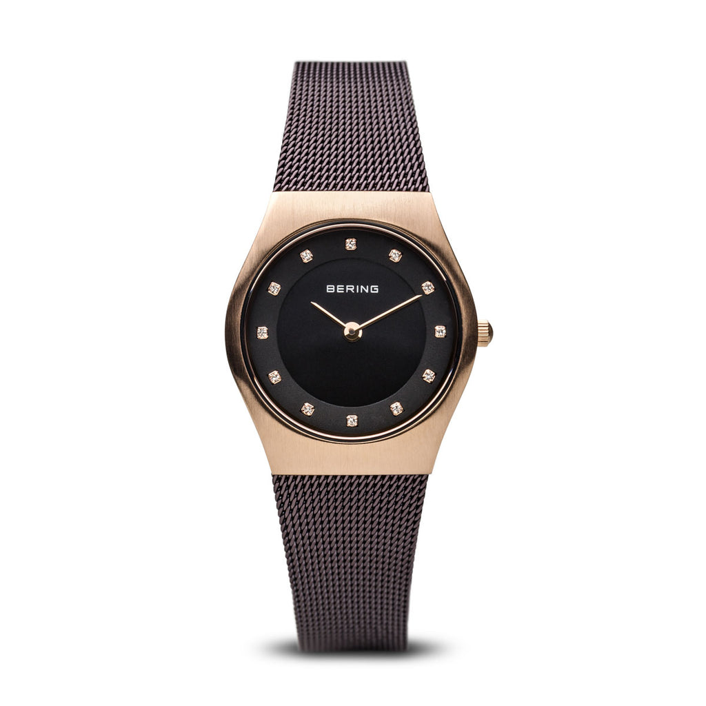Women's Milanese Brown Watch
