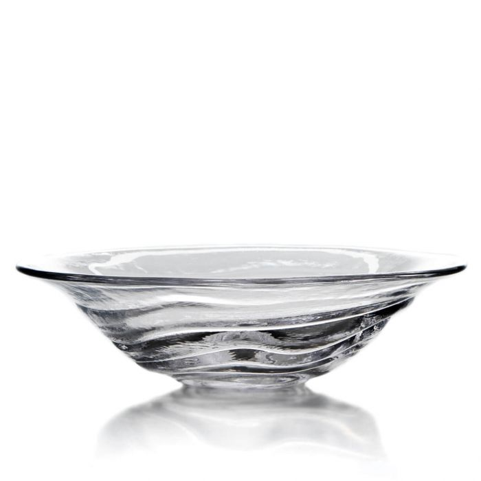 Simon Pearce Glass Thetford Bowl Large - Silverscape Designs