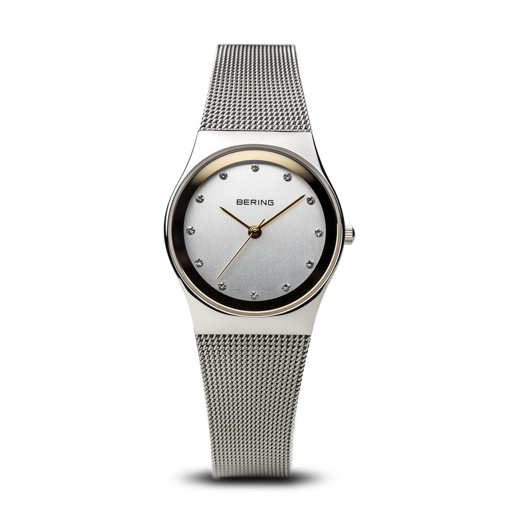 Classic Polished Silver Women's Watch - Silverscape Designs
