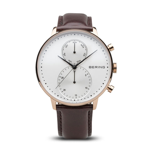 Calf Skin Brown Watch