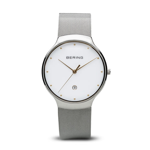 Milanese Two-Toned Watch