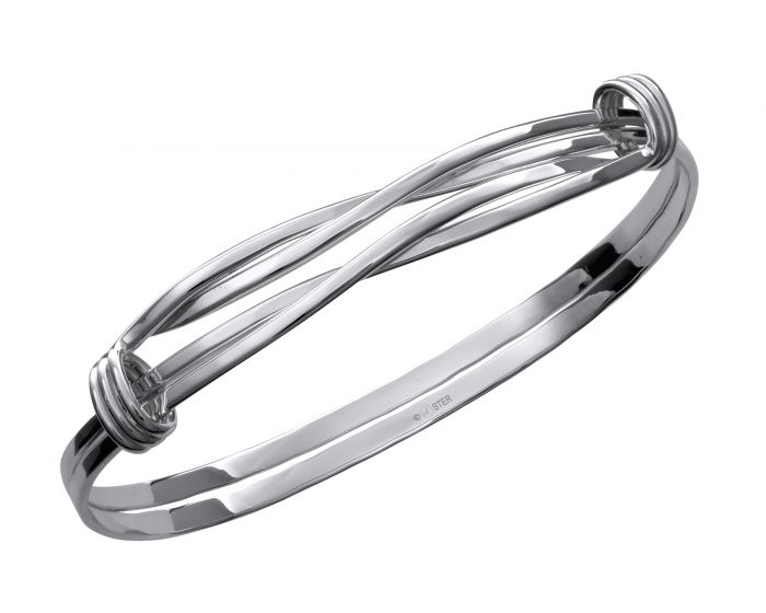 Twist Signature Bracelet Sterling Silver - Silverscape Designs