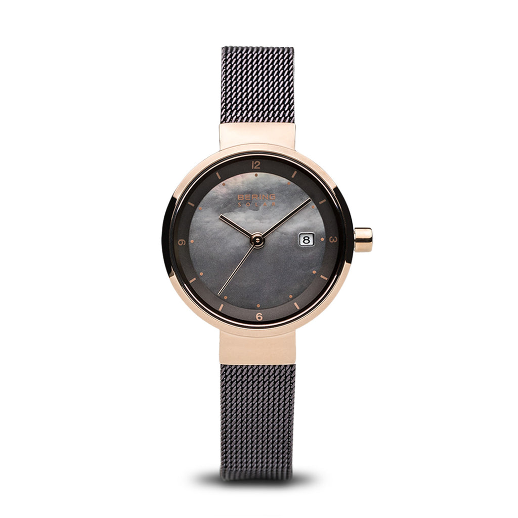 Solar Rose Gold Watch - Silverscape Designs
