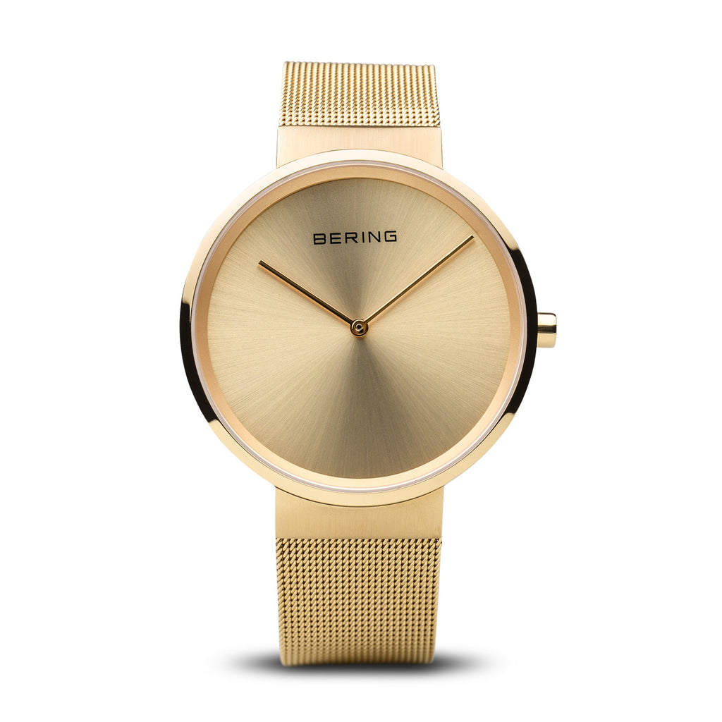 Classic Brushed Gold Watch - Silverscape Designs