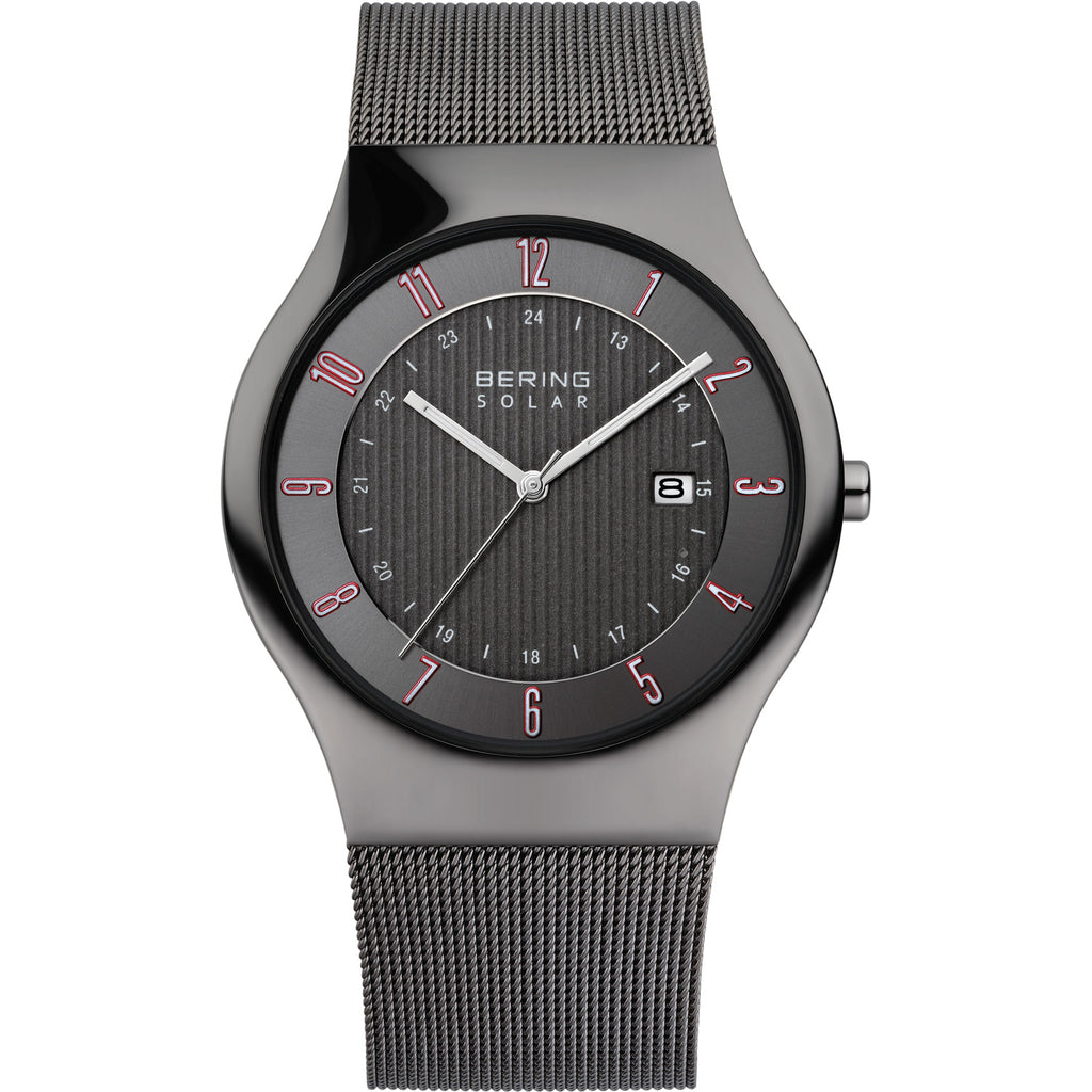 Solar Milanese Grey Watch