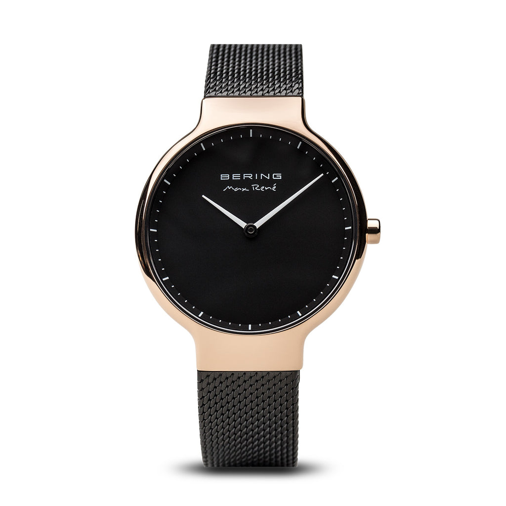 Max René Black and Gold Watch