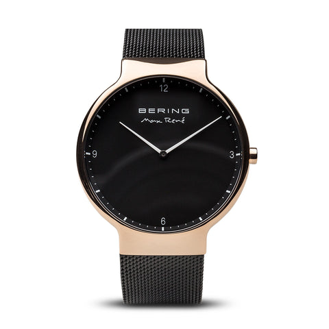 Max René Black & Gold Watch