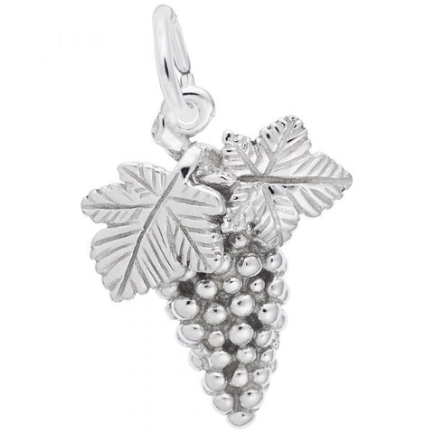Bunch of Grapes Charm - Silverscape Designs
