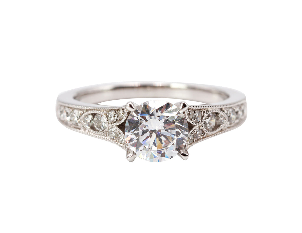 Antique Designed Engagement Ring
