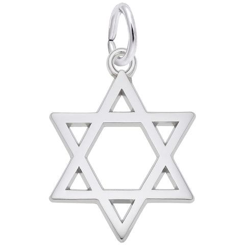 Star of David Charm - Silverscape Designs