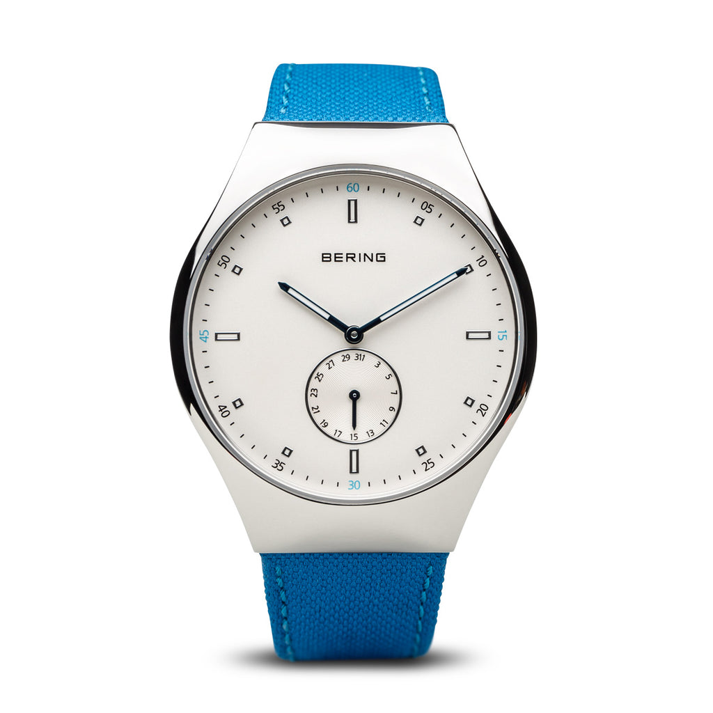 Smart Travel Bluetooth Nylon Blue Watch
