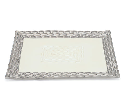 Truro Platinum Rectangle Tray