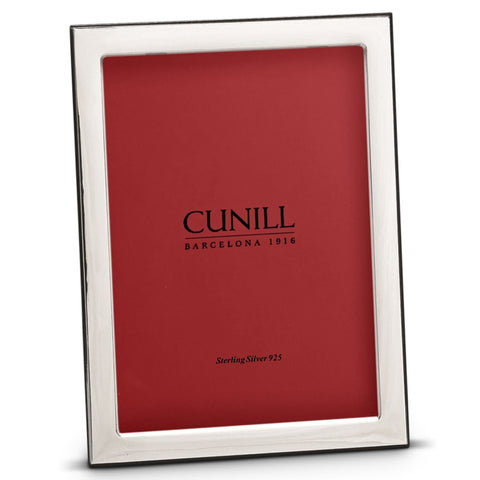 "Cunill Silver 8x10"" Oxford Picture Frame - Silverscape Designs"
