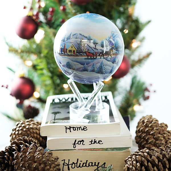 Home For The Holidays Mova Globe
