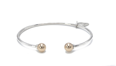 Two-toned cape cod bracelet
