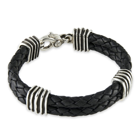 Double Braided Wave Bracelet