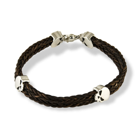 Leather Punisher Bracelet
