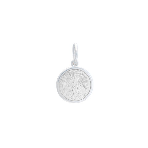 White Angel Pendant in Sterling Silver - Silverscape Designs