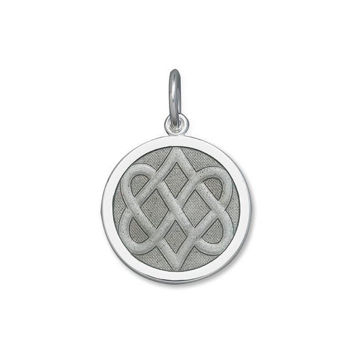 Pewter Celtic Knot Pendant in Sterling Silver