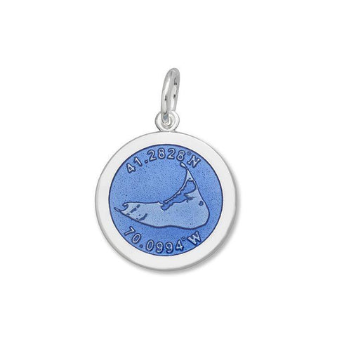 Periwinkle Nantucket Pendant in Sterling Silver - Silverscape Designs