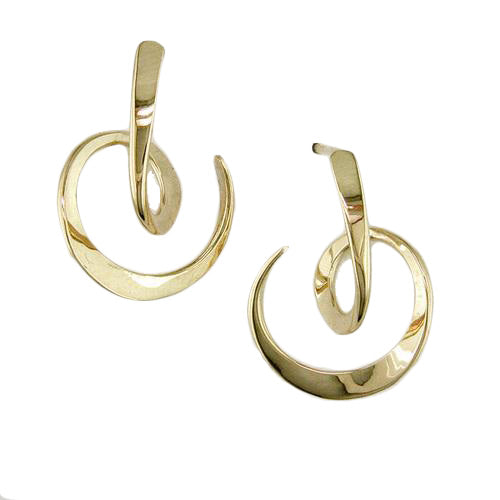 Looping Circle Earring